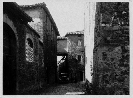 Uno scorcio di Castel Rigone negli anni '30
